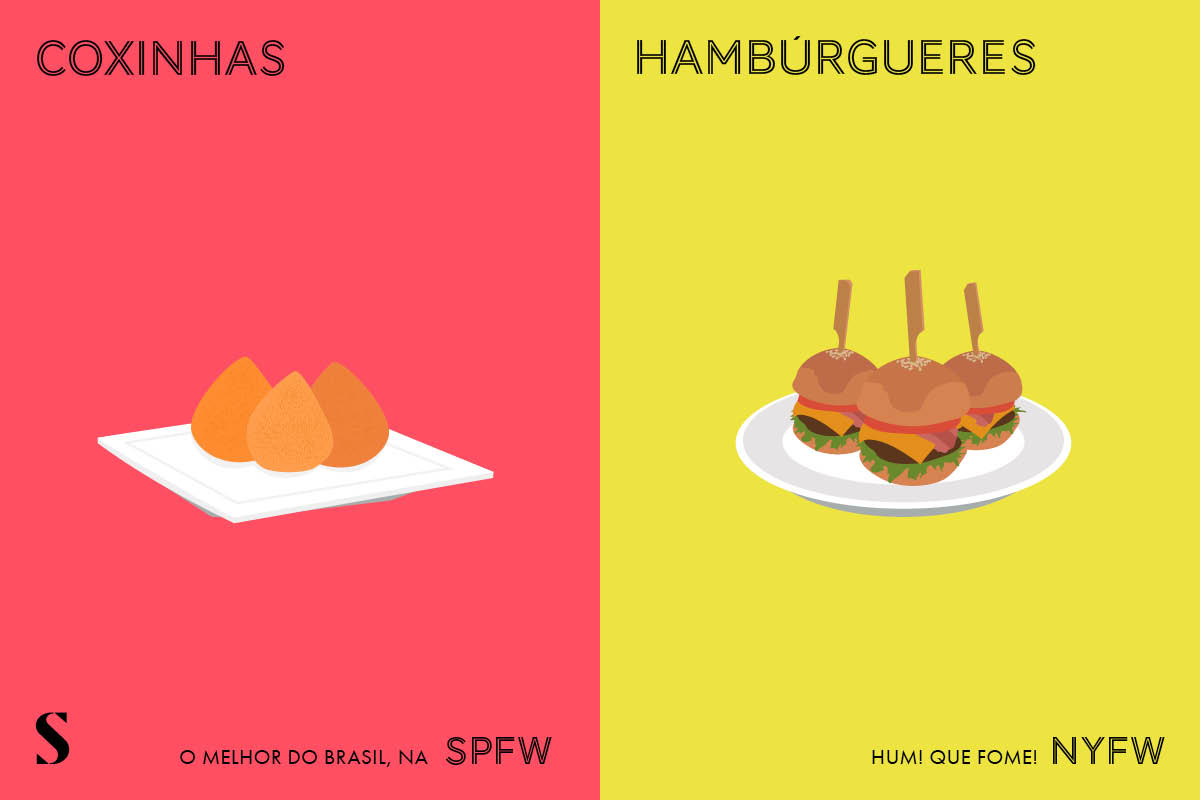 Coxinhas Vs Hamurguer Fashion Week Stylight