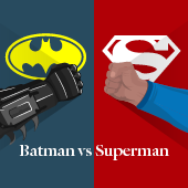 Batman vs Superman – Rivais de estilo